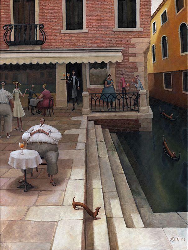 La Dolce Vita by Sarah Jane Szikora
