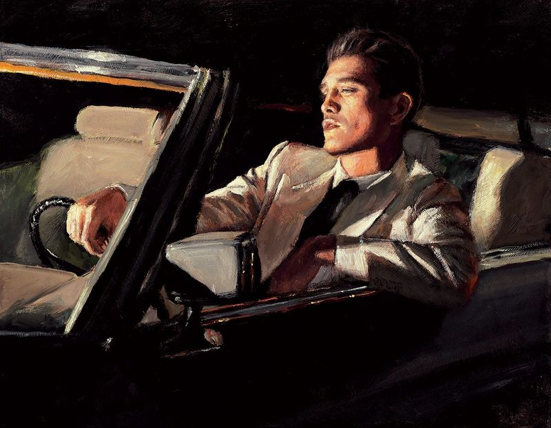 Late Night Drive II by Fabian Perez