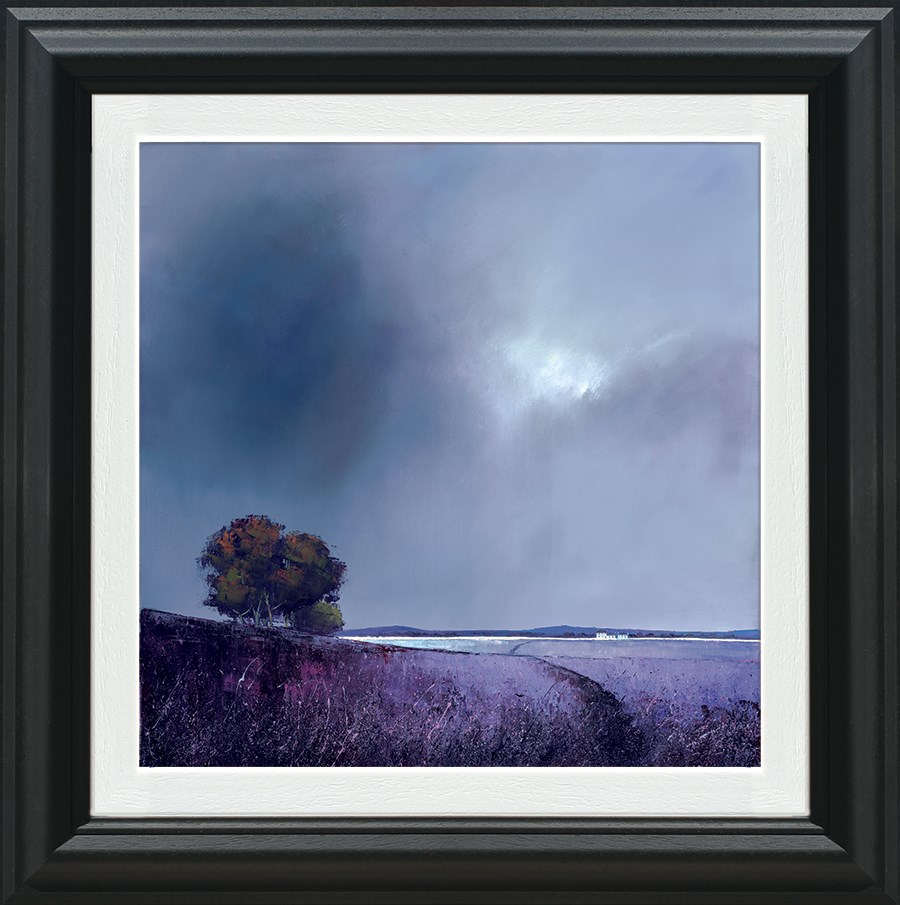 Lavender Skies - Framed by Barry Hilton