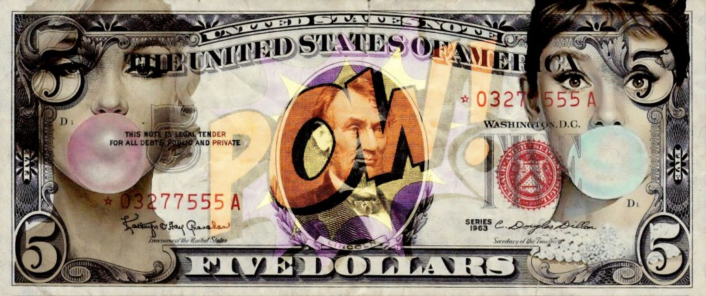 Legal Tender (Artist Proof)  - Box Canvas by Onelife183
