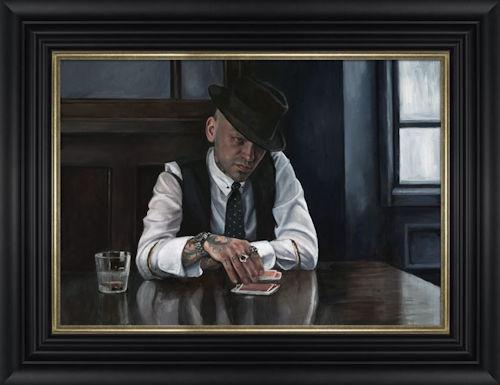 Let The Card Decide - Framed by Vincent Kamp