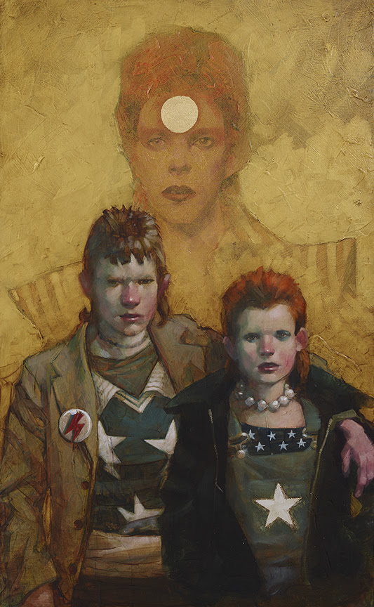 Let The Children Boogie (Bowie) - Canvas - Framed by Craig Davison