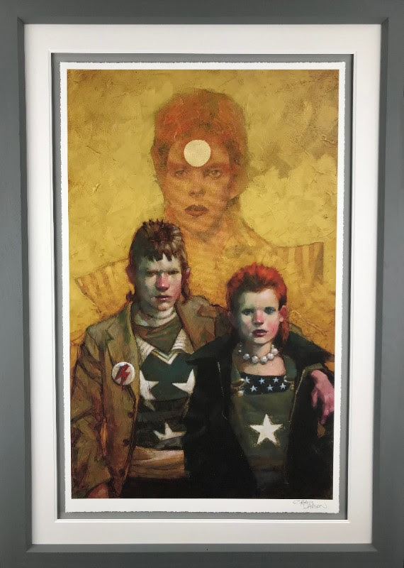 Let The Children Boogie (Bowie) - Framed by Craig Davison