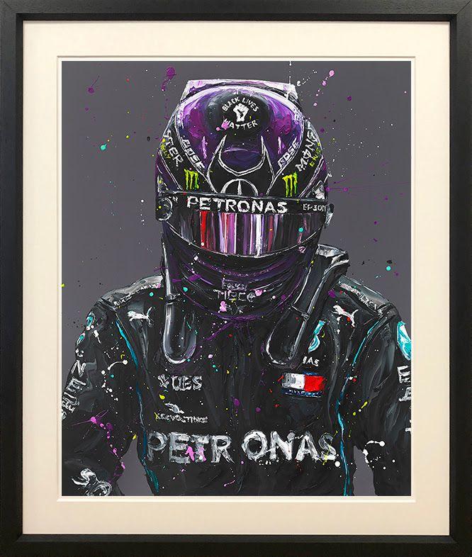 Lewis 2020 - Black - Framed by Paul Oz