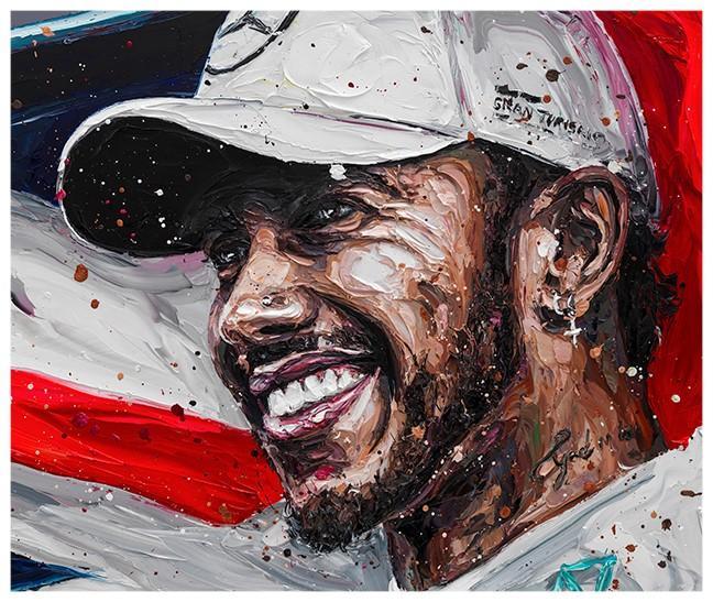 Lewis Title 18 (Lewis Hamilton) by Paul Oz