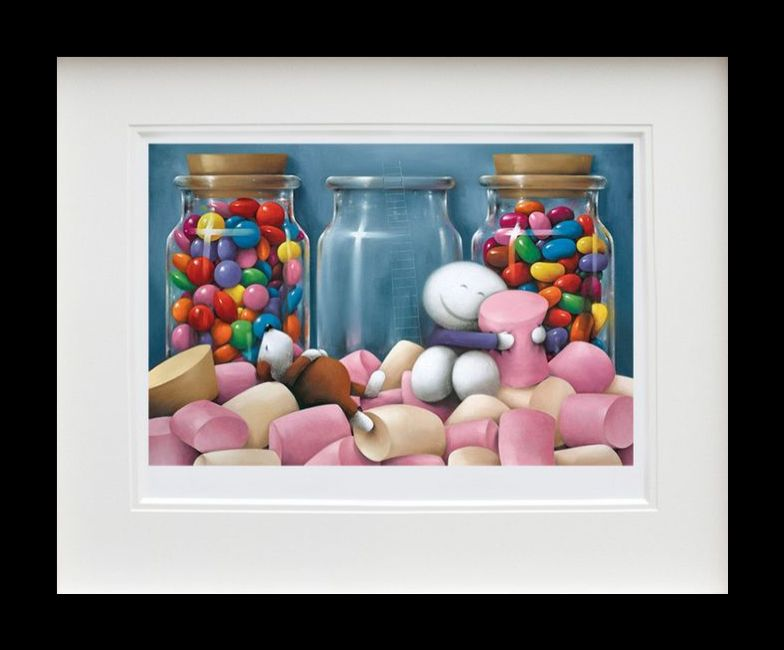 Life Is Sweet - Black Framed by Doug Hyde