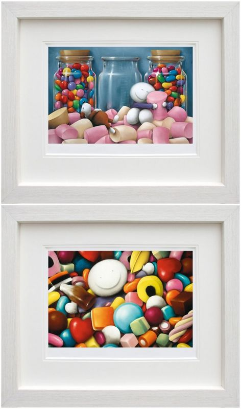 Life Is Sweet & Pick Me - Set - Framed by Doug Hyde