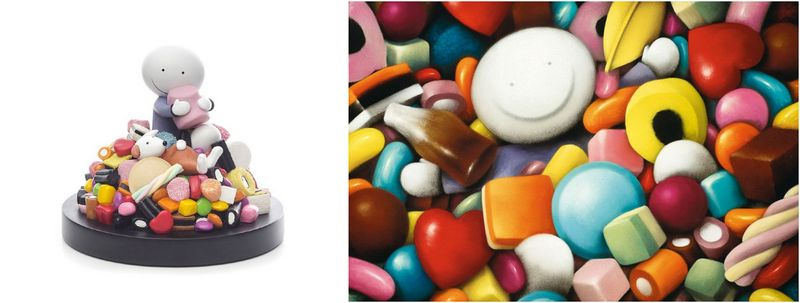 Life Is Sweet - Sculpture And Pick Me - Set - Mounted - Mounted by Doug Hyde