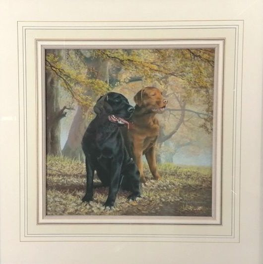 Lifelong Companions - Original by Nigel Hemming