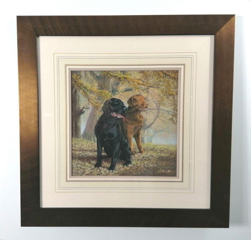 Lifelong Companions - Original - Bronze - Framed by Nigel Hemming