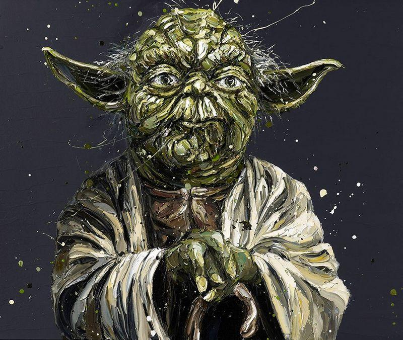 Limited Edition I Am (Yoda) by Paul Oz