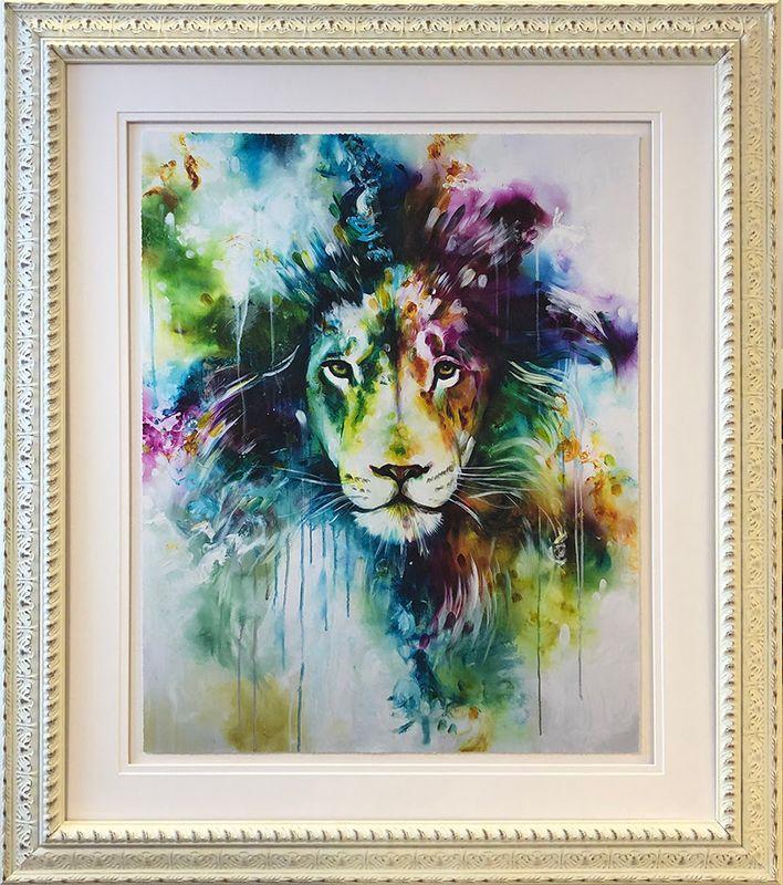Lion 2019 - Original - Framed by Katy Jade Dobson