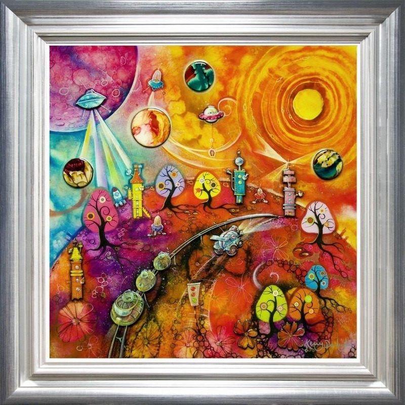 Lollipop Galaxy by Kerry Darlington