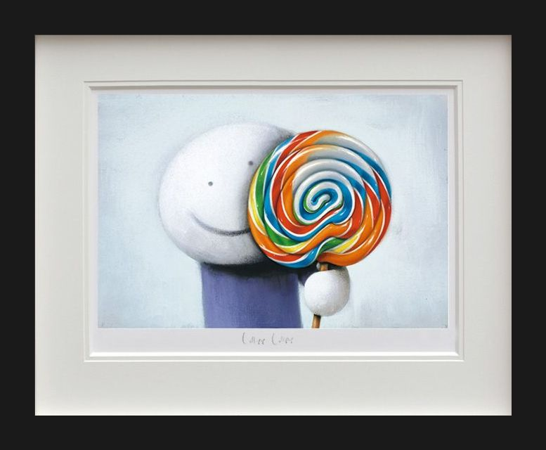 Lollipop, Lollipop - Black Framed by Doug Hyde