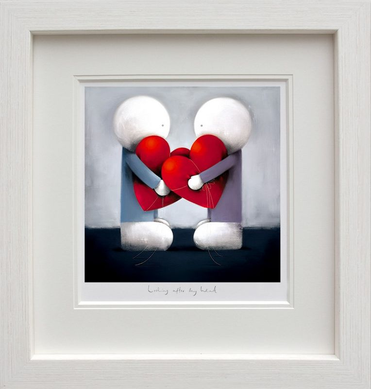 Looking After My Heart - Framed by Doug Hyde