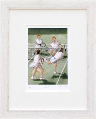 Love All - Framed by Rebecca Lardner