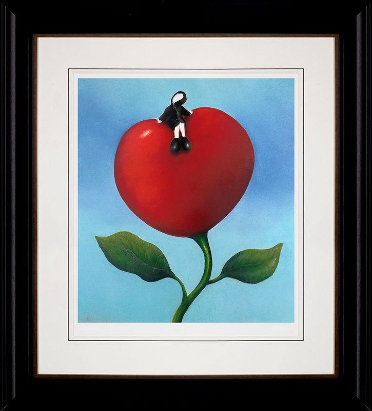 Love And Life - Framed by Mackenzie Thorpe