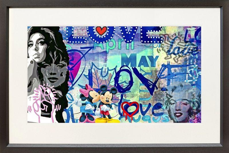 Love - Black - Framed by Onelife183
