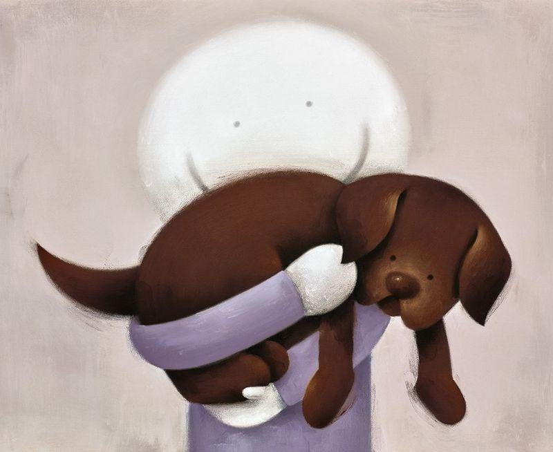 Love Hug by Doug Hyde