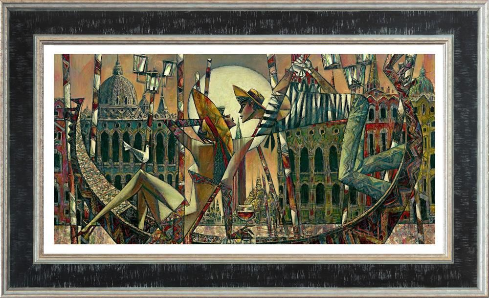 Love In Venice (Large) - Framed by Andrei Protsouk
