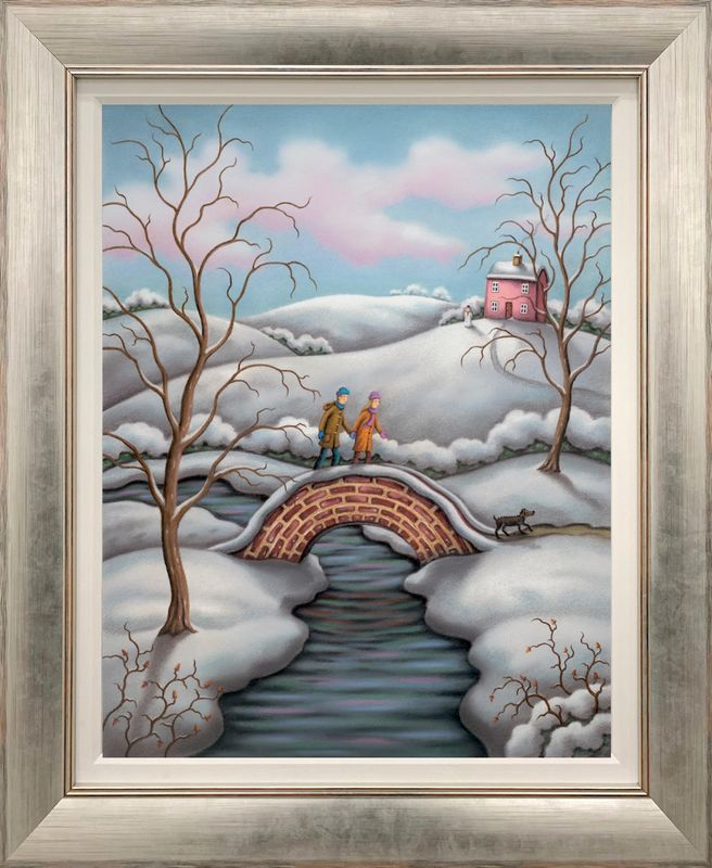 Love Is All Around - Canvas - Framed by Paul Horton