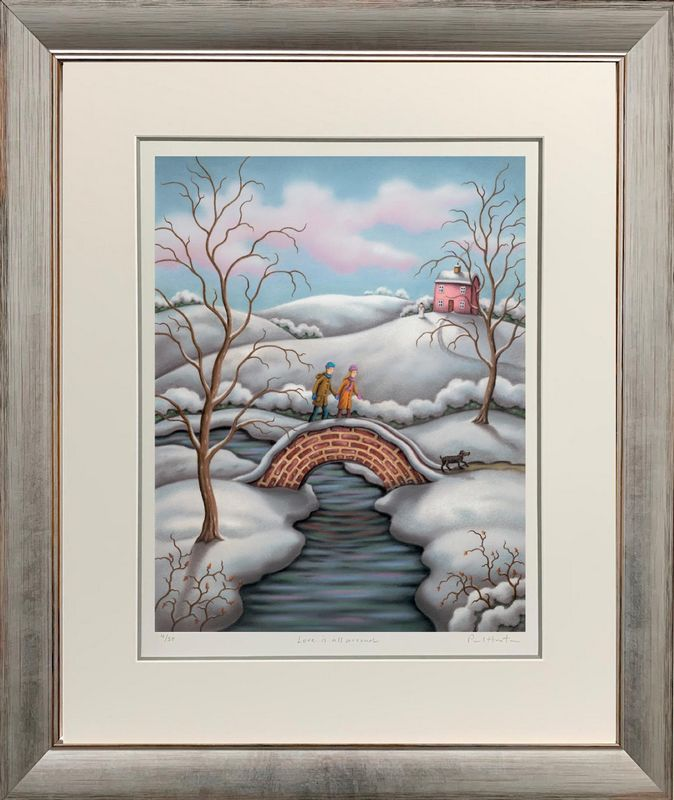 Love Is All Around - Framed by Paul Horton