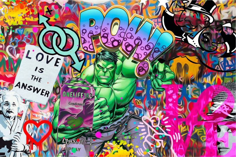 Love Is The Answer  - Box Canvas by Onelife183