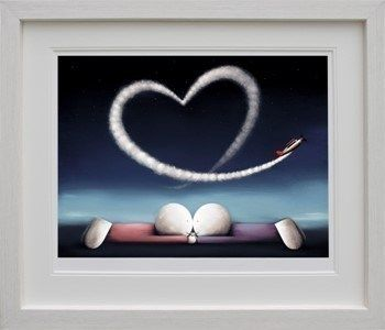 Love Lifts Us Up - Deluxe - Framed by Doug Hyde