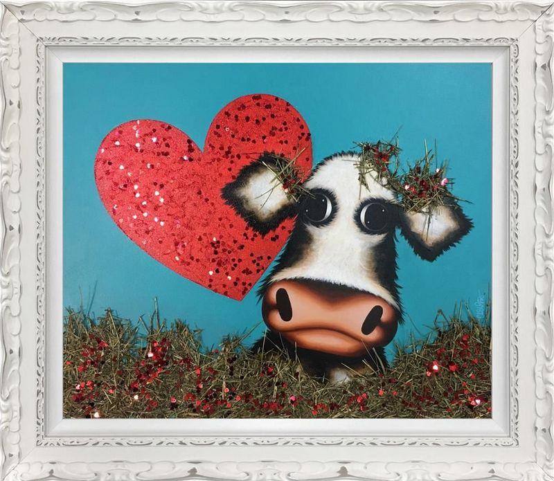 Love Me Do - Original by Caroline Shotton