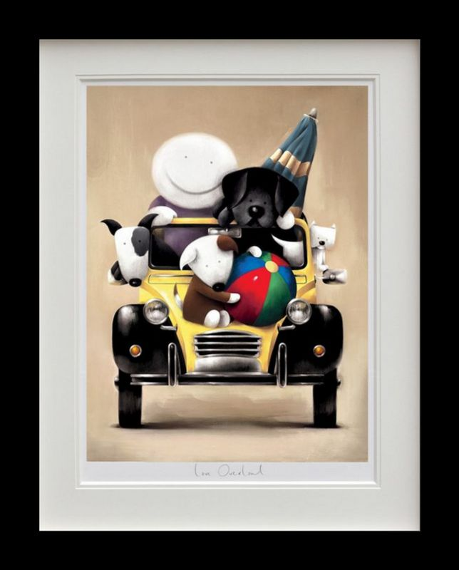 Love Overload - Black Framed by Doug Hyde