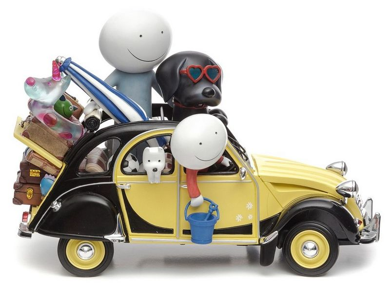 Love Overload - Sculpture  by Doug Hyde