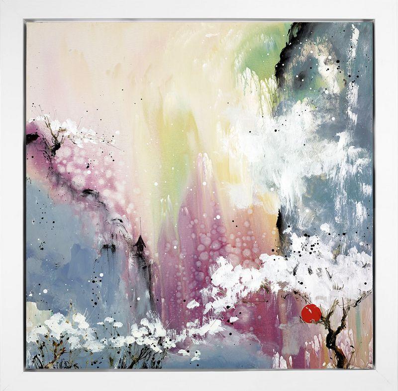 Love Poem II - Framed Box Canvas by Danielle O'Connor Akiyama