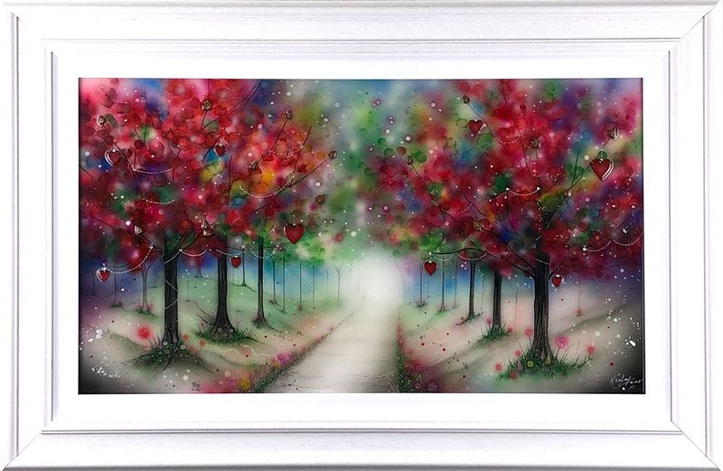 Love Will Lead The Way - Original - Framed by Kealey Farmer