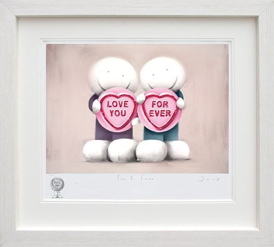 Love You Forever - Remarque Edition - Framed by Doug Hyde