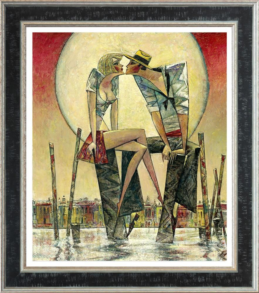 Lunar Love (Large) - Framed by Andrei Protsouk