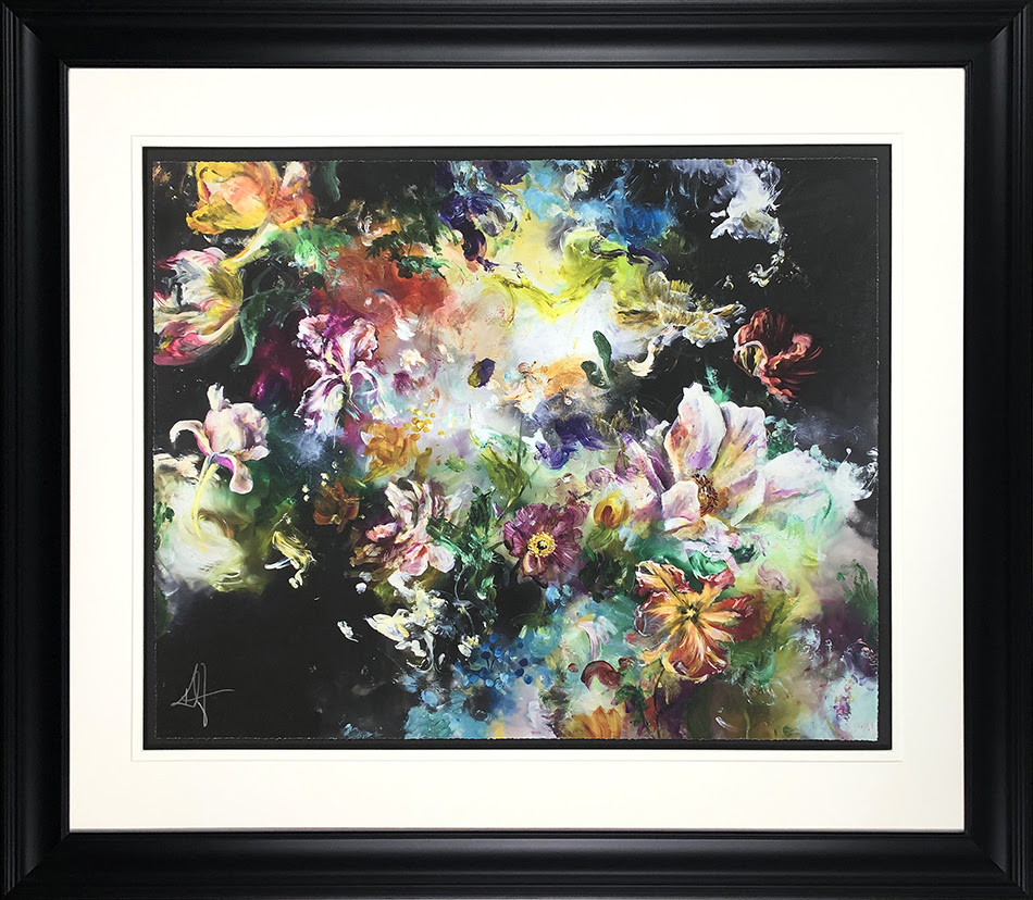 Lush - In Black - Framed by Katy Jade Dobson