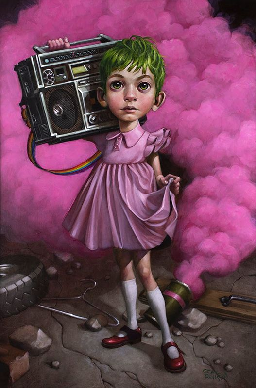 Make Your Own Kind Of Music - Mounted by Craig Davison