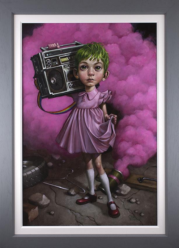 Make Your Own Kind Of Music - Canvas - Grey Frame - Framed by Craig Davison