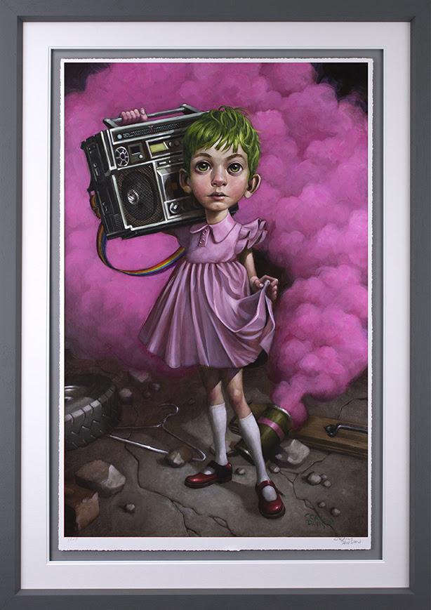 Make Your Own Kind Of Music - Grey Frame - Framed by Craig Davison
