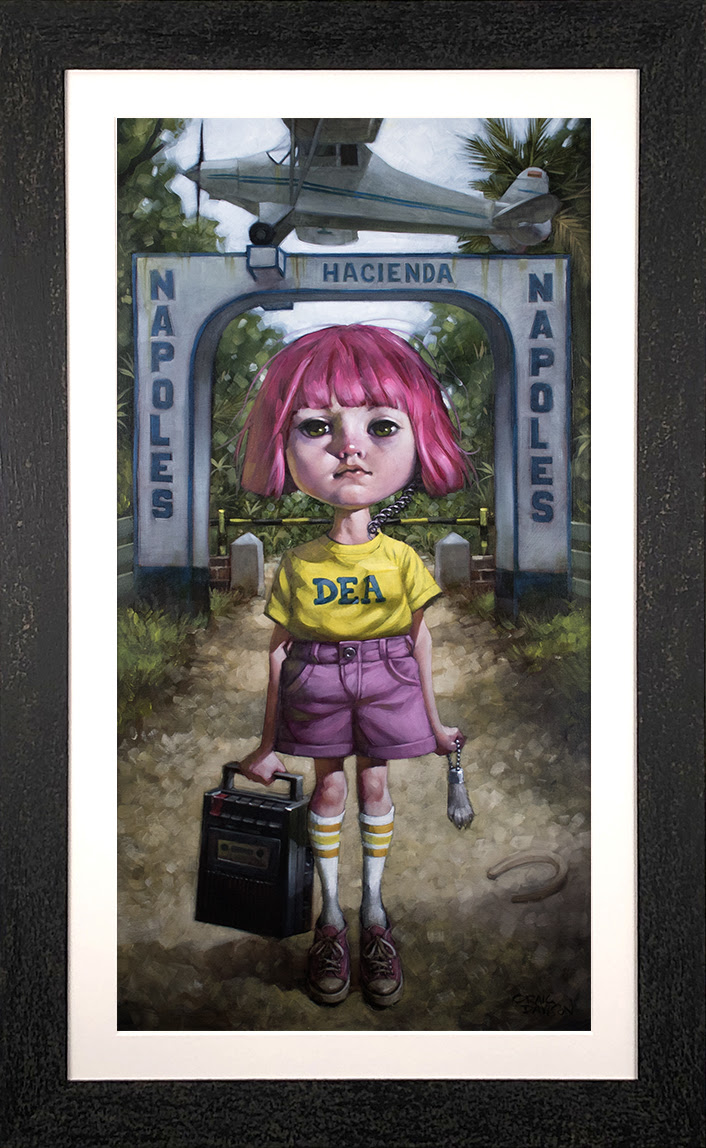 Make Your Own Luck - Canvas - Framed by Craig Davison