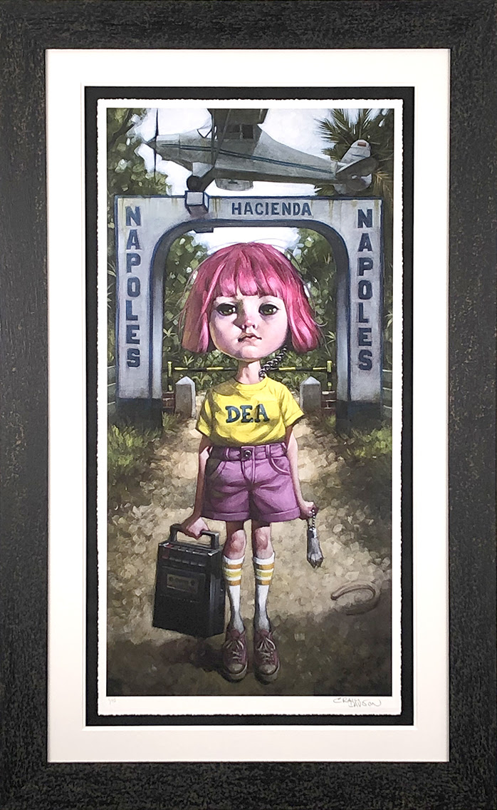Make Your Own Luck - Framed by Craig Davison