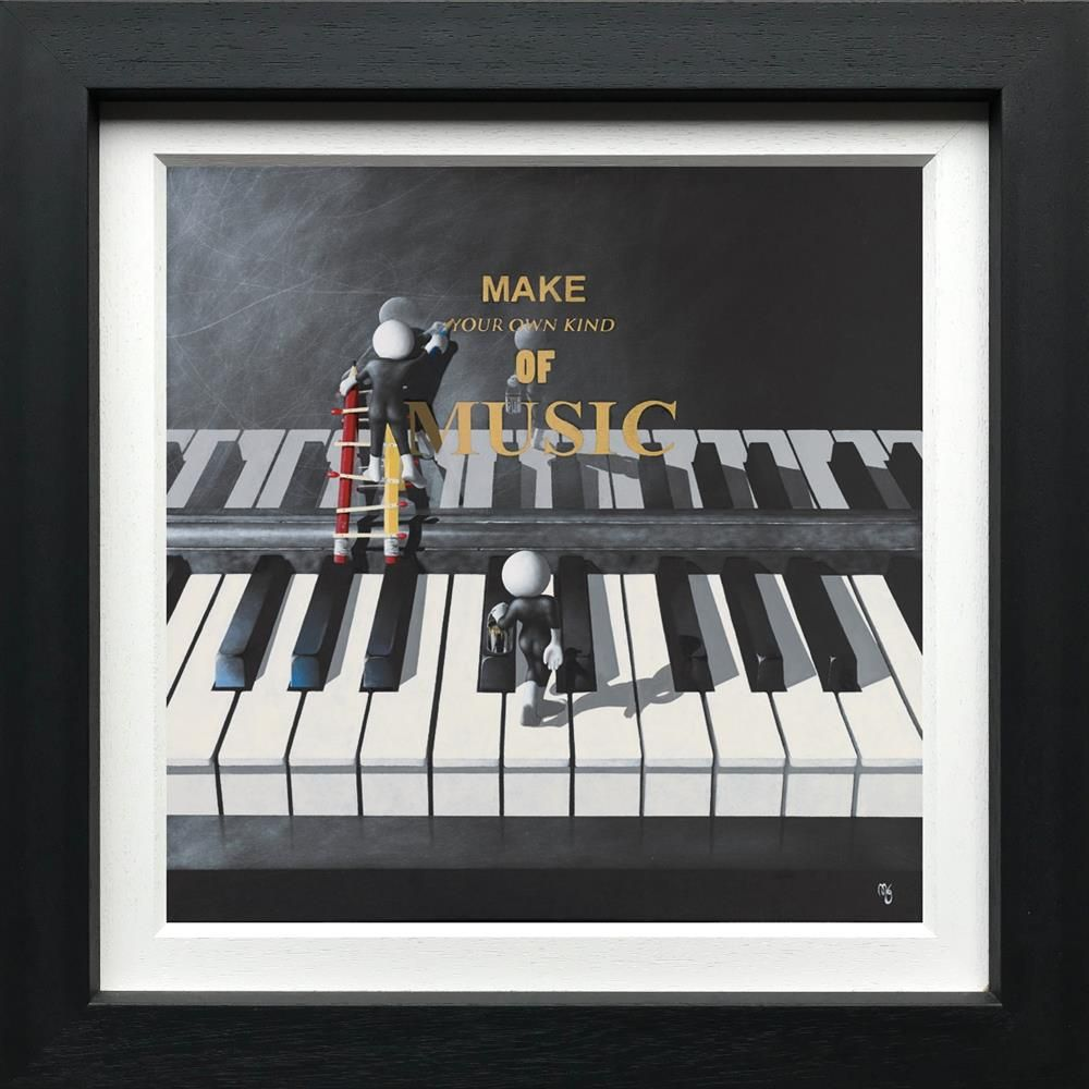 Make Your Own Music - Canvas - Framed by Mark Grieves