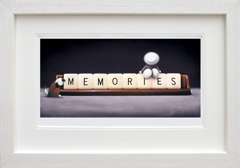 Making Memories - White Framed by Doug Hyde
