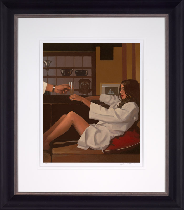 Man Of Mystery - Framed by Jack Vettriano