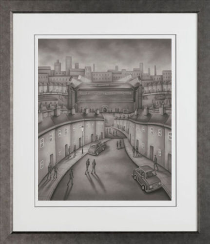 Match Of The Day - On Paper - Framed