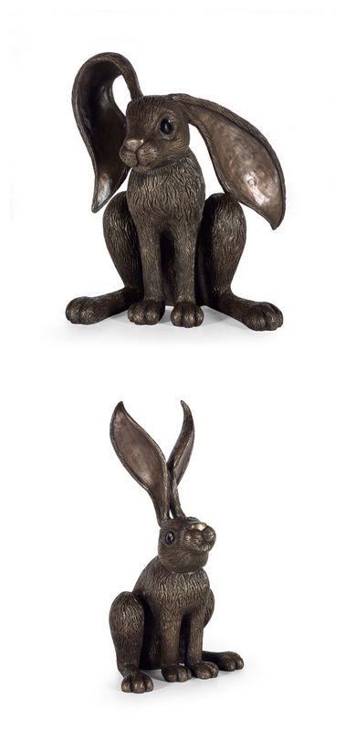 McHoppers Bronze - Set Of 2 by Jennifer Hogwood