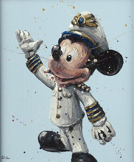 Mickey - Canvas - Framed by Paul Oz