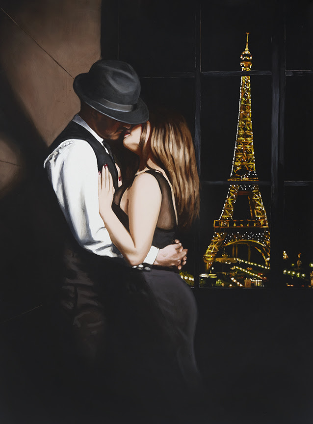 Midnight In Paris - Mounted