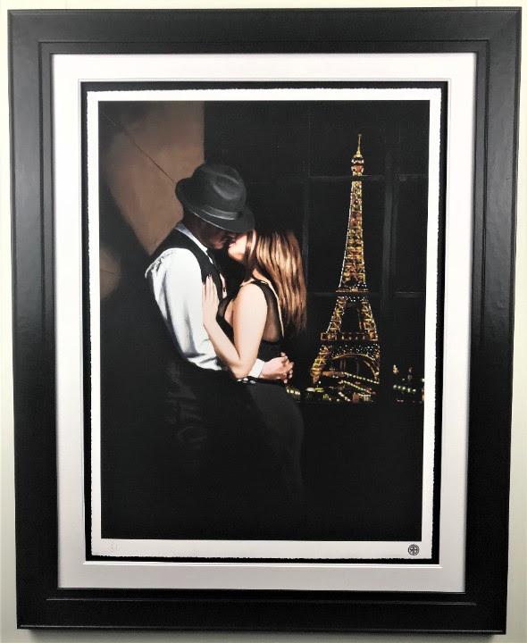 Midnight In Paris - Paper - Framed
