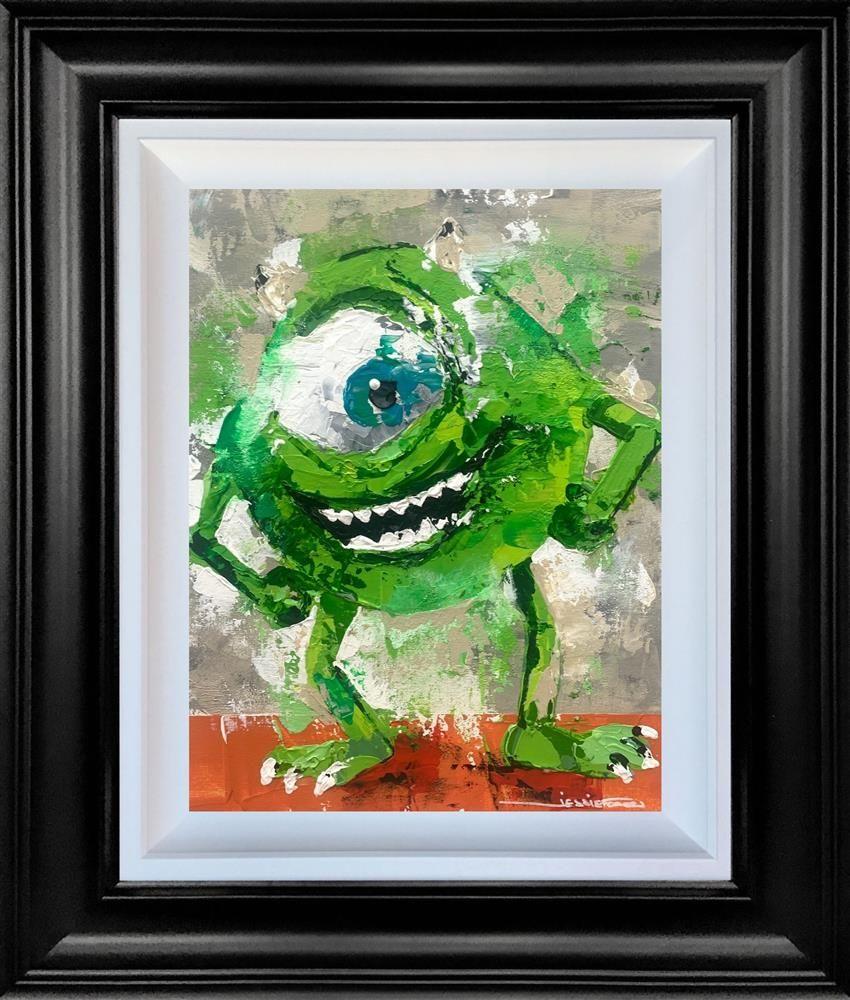 Mike - Original - Black Framed by Jessie Foakes